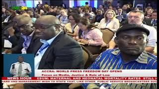 Download Ghana hosts World Press Freedom Day Video