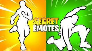 Download These 10 Secret Fortnite Emotes Are Amazing..!! Video
