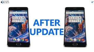 Download OnePlus 3 After Update to Oxygen OS 3.2.0 - RAM Management Fixed? Video