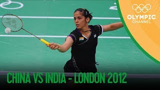 Download Saina Nehwal Wins Badminton Women's Singles Bronze - IND v CHN | London 2012 Olympics Video