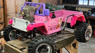 Download The Ultimate Princess Jeep Build Part 2 Video