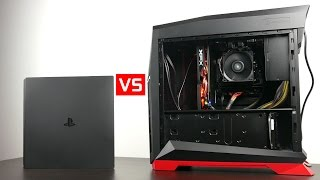Download Playstation 4 Pro vs $550 Gaming PC Video