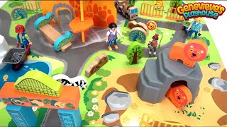 Download Let's Build a Zoo and Play with a Toy Farm to Learn Animal Names! Video