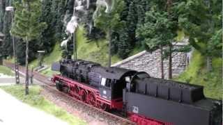 Download Trix 22780 BR 50 Güterzug-Dampflokomotive mit Schlepptender und Sound, H0 Video
