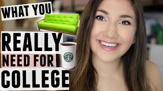 Download What you DO and DON'T Need for College! What to Pack vs What NOT to Pack! Video