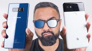 Download Google Pixel 2 XL vs Samsung Galaxy Note 8 Video