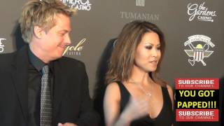 Download Kato Kaelin and Leyna Nguyen arriving to the Wounded Warrior Amputee Softball Team Charity Gala @Kat Video