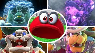 Download Super Mario Odyssey - Cappy vs All Bosses (Invisible Hat) Video