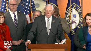 Download WATCH LIVE: Pelosi, House Democrats address possible government shutdown Video