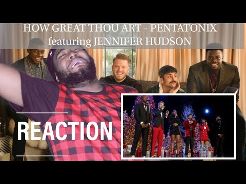 [OFFICIAL VIDEO] How Great Thou Art - Pentatonix featuring Jennifer Hudson | REACTION