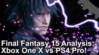 Download [4K HDR] Final Fantasy 15: Xbox One X vs PlayStation 4 Pro - The Complete Analysis Video