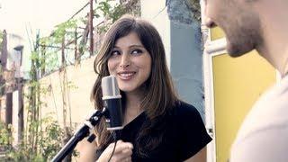 Download Pretty Russian girl sings ″Kahit Maputi Na Ang Buhok Ko″ w/David DiMuzio Video