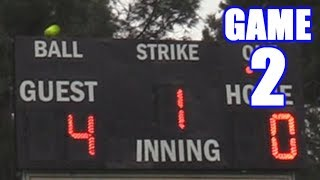Download 5-RUN HOME RUN OFF THE SCOREBOARD! | On-Season Softball Series | Game 2 Video