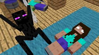 Download Monster School: Animal Riding Challenge - Minecraft Animation Video