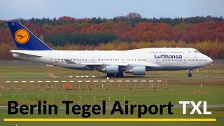 Download 40 Minutes BUSY Planespotting at Berlin Tegel Airport: 747, 767, A330 & more! [Full HD] Video