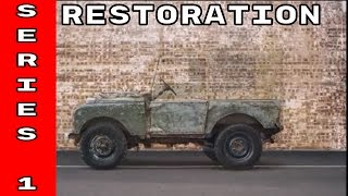Download Classic Land Rover Series 1 Restoration Video