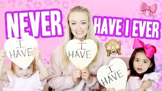 Download NEVER HAVE I EVER W/ 4 YEAR OLDS FOREVERANDFORAVA Video