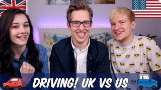Download Driving! British VS American | Evan Edinger & Luke Cutforth & Kim Video