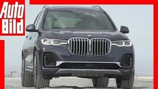 Download BMW X7 (2019) Test / Details / Fahrbericht Video