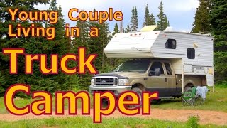 Download Young Couple in a Truck Camper Video