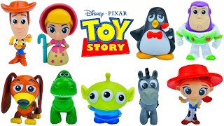 Download New 2017 Toy Story Minis Toys Collection Buzz Lightyear Woody Jessie Ham Bullseye Buttercup Wheezy Video