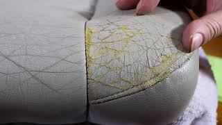 Download How To Correctly Repair Damaged & Cracked Car Leather Seats Video