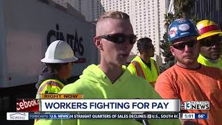 Download Construction workers on Strip say they haven't been paid in weeks Video