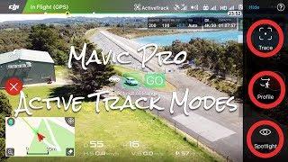 Download DJI Mavic Active Track Modes (Trace, Profile & Spotlight) Video