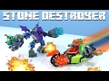 Download LEGO NEXO Knights Aaron's Stone Destroyer with Robot Hoodlum Video