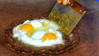 Download King of Kathiyawadi Egg Dishes | Green Tadka Egg Tikhari | Egg Street Food | Indian Street Food Video