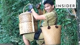 Download Treetop dining is a must in Thailand Video
