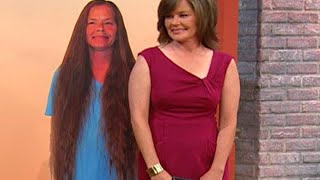 Download Woman Gets Dramatic Haircut After 30 Years Video