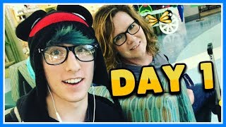 Download FLYING ON AN AIRPLANE!! | Vidcon 2017 VLOG | Day 1 Video