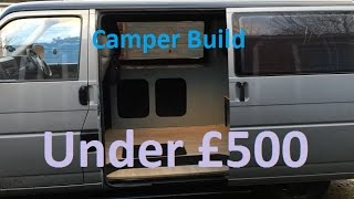 Download How to convert your van to a basic camper for cheap Video
