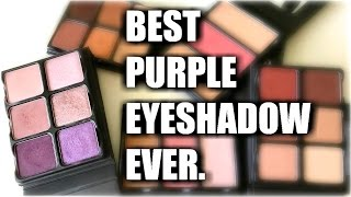 Download BEST PURPLE EYESHADOW EVER | Viseart Theory Palette Reviews Video
