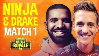 Download Ninja and Drake Play Duos! Match 1 - Fortnite Battle Royale Gameplay Video