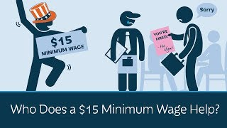 Download Who Does a $15 Minimum Wage Help? Video