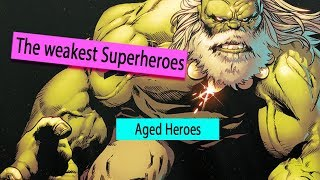 Download 5 Superheroes Who Bacame more Weaker With Age Video