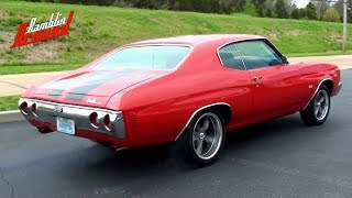 Download Wicked Sounding 1971 Chevelle - 406 Roller Cam Chevy V8 Video