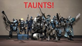 Download Team Fortress 2: All robots taunts Video