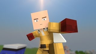 Download One Punch Man plays Hunger Games - Minecraft Animation Video
