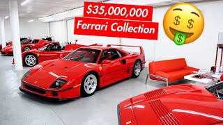 Download MEET DAVID WHO DAILY DRIVES A $35 MILLION FERRARI COLLECTION! Video
