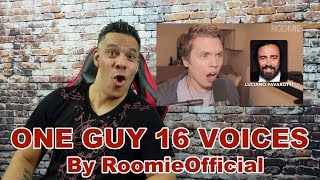 Download One Guy, 16 Voices by RoomieOfficial REACTION!!! Video
