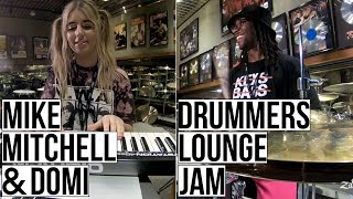 Download Mike Mitchell & DOMi - Drummers Lounge Jam Video