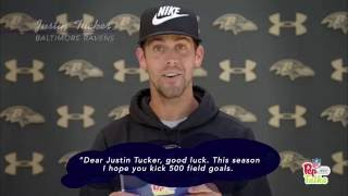 Download Justin Tucker, Joe Flacco & More Baltimore Ravens Get Pep Talks from Young Fans!   NFL Video