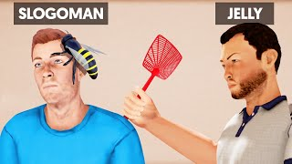 Download SLAP The STINGING BEES To SURVIVE! (Annoying Game) Video