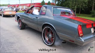 Download Veltboy314 - Nate's Big Block Monte Carlo SS on 24″ Asanti Wheels Video