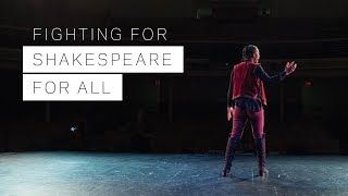 Download Fighting for Shakespeare for All Video