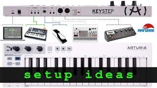 Download Arturia KeyStep - some setup ideas Video