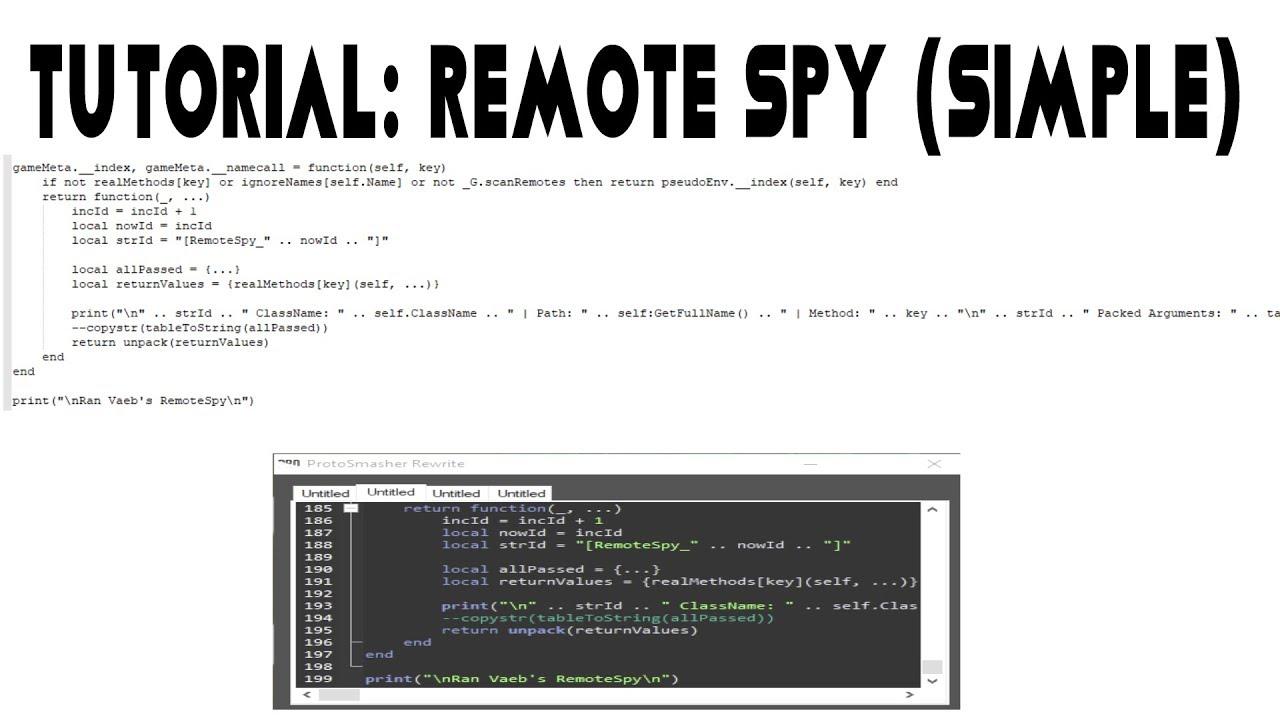 Stream tutorial how to use remote spy to make fe scripts 941231 tutorial how to use remote spy to make fe scripts baditri Gallery